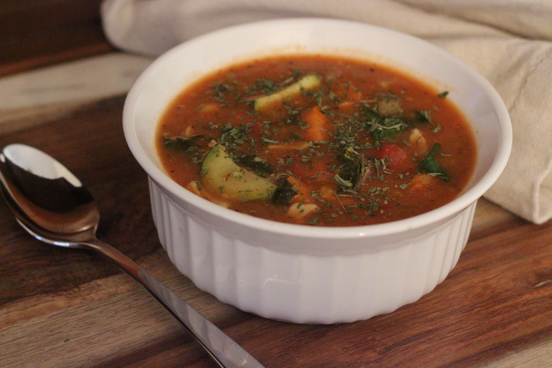 """Instant Pot"" Minestrone Soup"