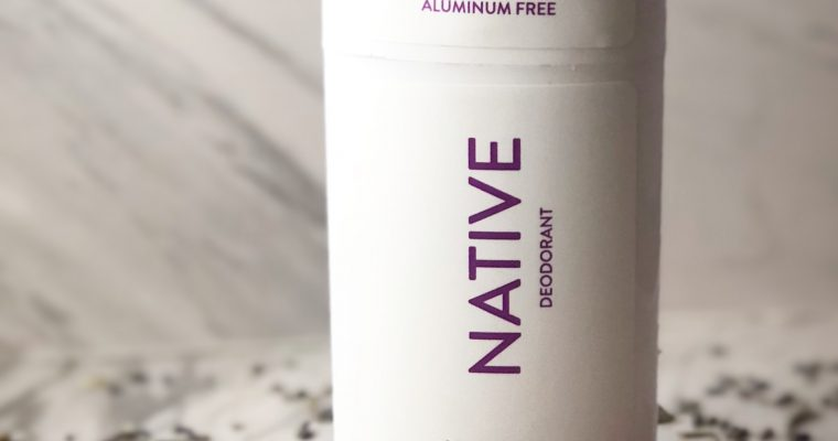 Native Deodorant – Product Review